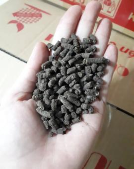 phân hữu cơ trùn quế nén viên